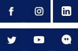 Social Media Icons - Facebook, Instagram, LinkedIn, Twitter, YouTube, Etc.