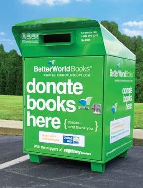 Better world books drop box near me