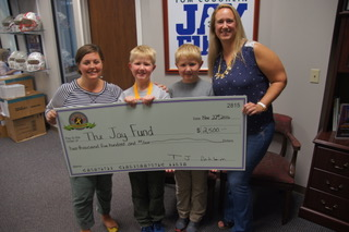 How a Boosterthon Student Raised $2,500 to Fight Childhood Cancer 2