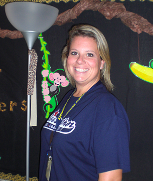 Boosterthon teacher Jennifer Swafford in 2011