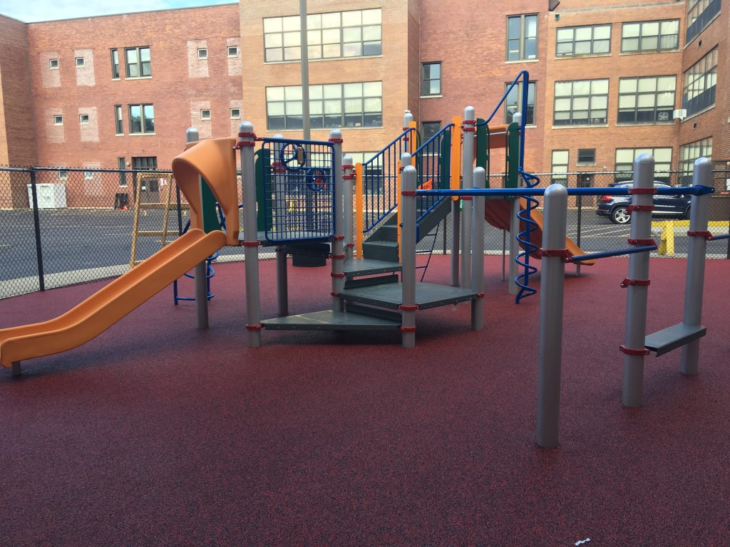 Booster fundraising got this school a new playground.