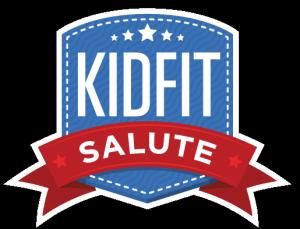 Kid Fit Salute LOGO Badge