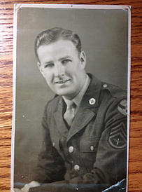 Boosterthon founder Chris Carneal's grandfather in WW2 uniform.