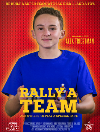 Boosterthon Rally A Team Movie Poster