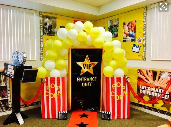 Backyard Box Office Decoration Inspiration Ideas
