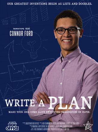 Boosterthon Write a Plan Movie Poster