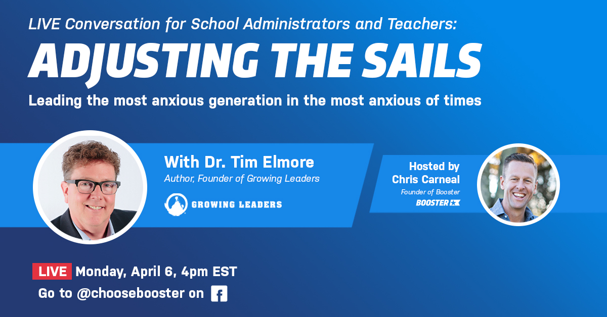 Live Q+A Tim Elmore Teachers Principals Educators Leading Students Crisis