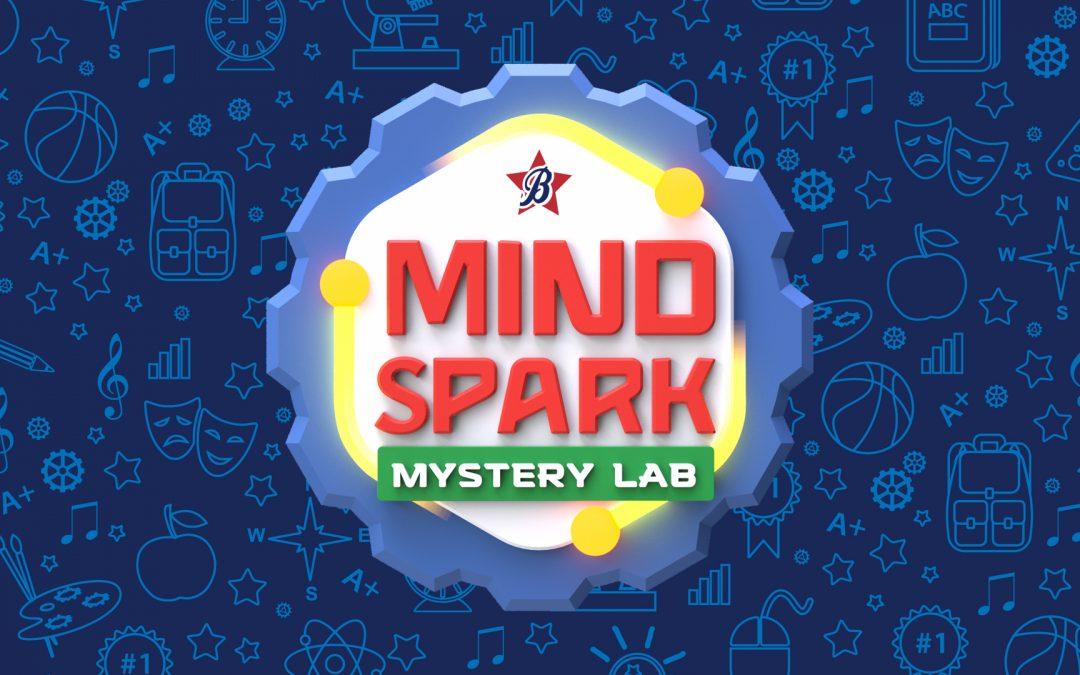 MindSpark Mystery Lab - Logo